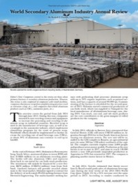 World Secondary Aluminum Industry Annual Review