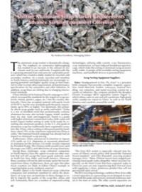 Shifting Aluminum Scrap Market Requirements Advance Sorting Equipment Offerings