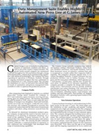 Data Management Suite Enables Highly Automated New Press Line at G.James