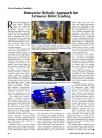 New Technology Spotlight: Innovative Robotic Approach For Extrusion Billet Loading