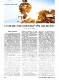 Inside/Out Light Metals: Sorting the Scrap Metal Industry One Load at a Time
