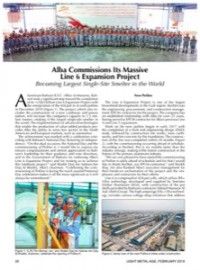 Alba Commissions Its Massive Line 6 Expansion Project: Becoming Largest Single-Site Smelter in the World