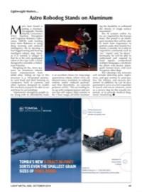 Lightweight Matters: Astro Robodog Stands on Aluminum