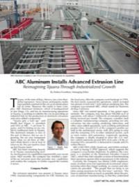 ABC Aluminum Installs Advanced Extrusion Line: Reimagining Tijuana Through Industrialized Growth