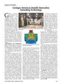 Equipment Spotlight:  Gränges Americas Installs Innovative Annealing Technology