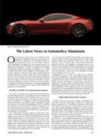The Latest News in Automotive Aluminum