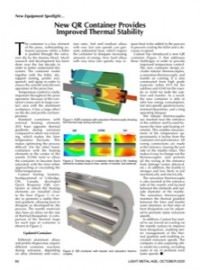 New Equipment Spotlight: New QR Container Provides Improved Thermal Stability