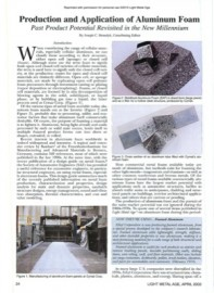 Production and Application of Aluminum Foam: Past Product Potential Revisted in the New Millennium