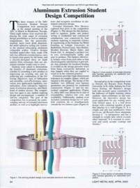 Aluminum Extrusion Student Design Competition