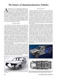 The Future of Aluminum-Intensive Vehicles