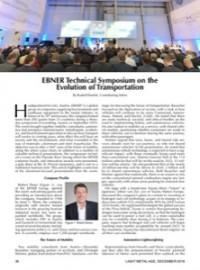EBNER Technical Symposium on the Evolution of Transportation